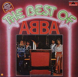 РЕДКАЯ Пластинка ABBA - The Best Of ABBA - 1976 (ОРИГИНАЛ) NM/NM