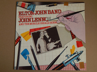 Elton John Band Featuring John Lennon And The Muscle Shoals Horns (DJM Records ‎– 0064.230, Germany)