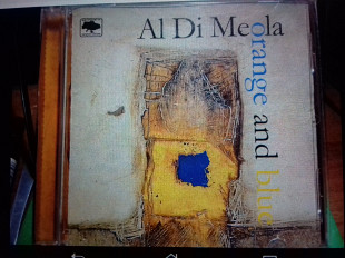Jazz AL DI MEOLA. Orange & apm.blue. p1994 verve usa Ukrainian rec booklet golograma