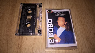 DJ BoBo (World In Motion) 1996. (MC). Кассета. Audio Max. Poland. Techno.