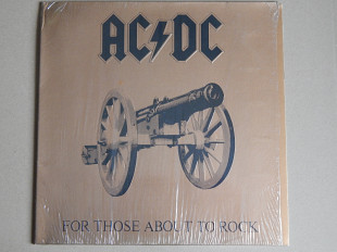 AC/DC ‎– For Those About To Rock (We Salute You) (Atlantic ‎– ATL K 50 851, France) EX+/NM-
