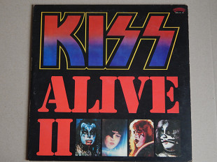 Kiss ‎– Alive II (Casablanca ‎– 19S-3~4, Japan) insert NM-/NM-/NM-
