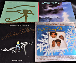 Modern Talking, Boney M., The Alan Parsons , Chris de Burgh