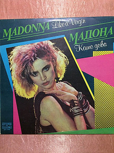Madonna - Like a Virgin LP (Balkanton 1989) M-/M