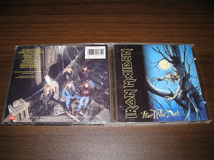 IRON MAIDEN - Fear Of The Dark (1992 EMI 1st press, UK) with merch list