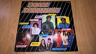 V.A. Pet Shop Boys, Ken Laszlo, Billy Ocean, den Harrow (Dance To The Music) 1986. (LP). 12. Vinyl.