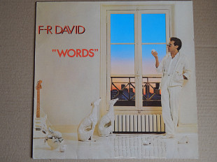 F-R David ‎– Words (Carrere ‎– 2934 153, Germany) EX+/NM-