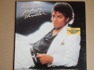 Michael Jackson ‎– Thriller (Epic ‎– EPC 85930, Holland) NM-/EX+