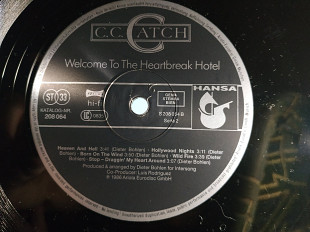 CC CATCH ''WELCOME TO THE HERATBREAK HOTEL''LP