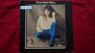 Suzi Quatro-If you knew Suzi