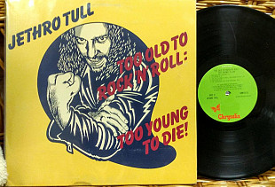 Jethro Tull - To Old To Rock'n'roll, To young to Die