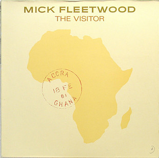 MICK FLEETWOOD (ex-Fleetwood Mac ) The Visitor 1981 Ger RCA Victor NM\NM GF\OIS