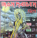 Iron Maiden - Killers LP Gala Records NM \ NM 600 грн.