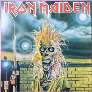 Iron Maiden ‎– Iron Maiden LP Gala Records NM\NM 450 грн.