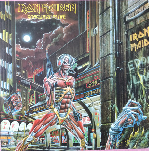 Iron Maiden - Somewhere In Time LP NM\NM His Master's Voice 520грн.