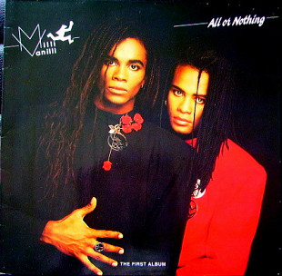 MILLI VANILLI All Or Nothing- The First Album 1988 Ger Hansa EX+\NM OIS