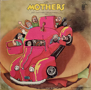 MOTHERS ( Frank Zappa ) Just Another Band From L.A. 1972 USA Bizarre EX\VG+ GF
