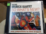 Джаз классик. Dave Brubeck quartet .so whats new p1998.CBS