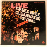 Creedence ‎– Live In Europe (2 LP/G/F) 1972 Fantasy France NM-/EX+(nm-)
