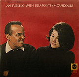 NANA MOUSKOURI An Evening With HARRY BELAFONTE 1966(7?) Ger RCA EX\NM