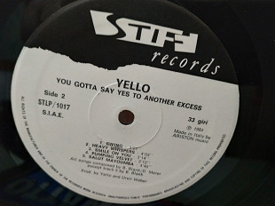 YELLO''YOU GOTTA SAY YES TO ANOTHER EXCESS''LP