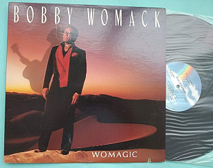 Bobby Womack ‎– Womagic 1986 / MCA-5899 , usa