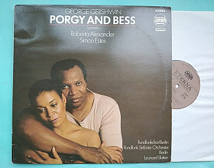 George Gershwin ‎– Porgy And Bess -Szenen- 1987 / ETERNA ‎– 7 25 036 , GDR ,