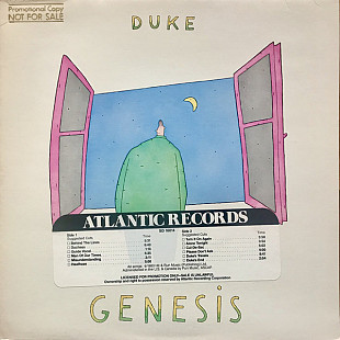 Genesis - Duke (LP, Album, Gat)
