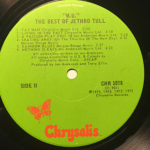 Jethro Tull - M.U. - The Best Of Jethro Tull (LP, Comp, Emb)
