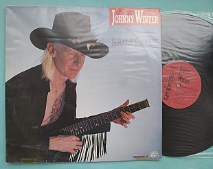 Johnny Winter ‎– Serious Business / Tonpress ‎– SX-T 85 , Poland