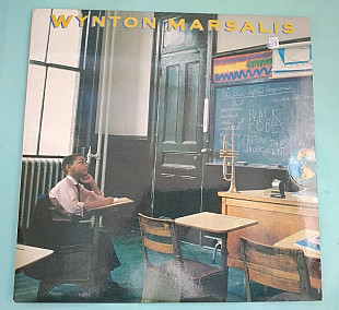 Wynton Marsalis ‎– Black Codes (From The Underground) 1988 / Supraphon ‎– 1115 4394, Czechoslovakia