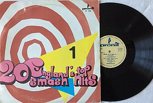 Alan Caddy ‎– England's Top 20 Smash Hits - 1 LP EX/NM