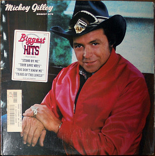 Mickey Gilley – Biggest hits (1982)(Epic ‎– FE 38320 made in USA)