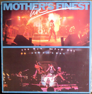 Mother's Finest ‎– Mother's Finest Live (1979)(Epic ‎– EPC 83693 made in Holland)