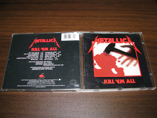 METALLICA - Kill'em All (1983 Elektra 12 tracks, USA)