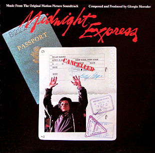 GIORGIO MORODER Midnight Express (Soundtrack) 1978 USA(promo) Casablanca EX+\NM