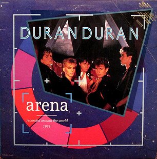 Duran Duran - Arena | Recorded Around The World 1984 (LP, Album, Jac)