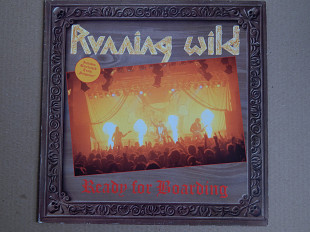 Running Wild ‎– Ready For Boarding ((Noise International ‎– N 0108-1, Germany) NM-/NM-