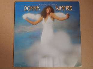 Donna Summer ‎– A Love Trilogy (Oasis ‎– 9128 036, Holland) NM-/NM-
