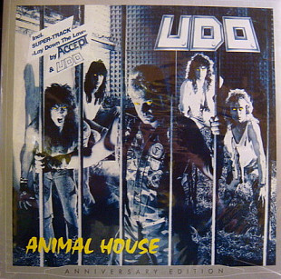 U.D.O. EX Accept (Animal House. Anniversary Edition) 1987. (2LP). 12. Vinyl. Пластинки. S/S. Запечат