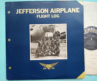 JEFFERSON AIRPLANE - Flight Log 1977 , 2lp