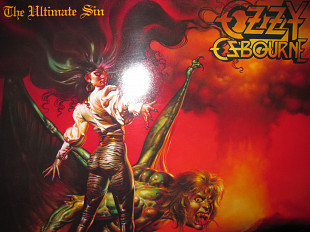 Виниловый Альбом OZZY OSBOURNE -The Ultimate Sin- 1986 (ОРИГИНАЛ) NM