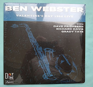 Ben Webster - Valentines Day 1964 Live! 2018 / 180g / DT8551 , SEALED