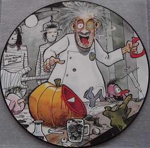 Helloween (Dr.Stein) 1988. (LP). 12. Vinyl. Picture Disc. Пластинка. Germany.