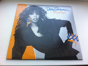Donna Summer ‎– All Systems Go 1987 US EX+/ЕХ