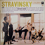 Stravinsky - Igor Stravinsky Conducting The Los Angeles Festival Symphony Orchestra And Chorus* - Ag