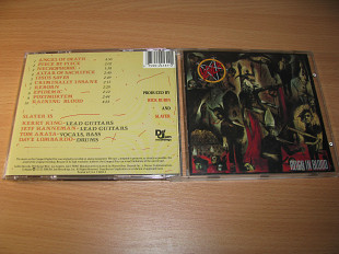 SLAYER - Reign In Blood (1986 Def Jam 1st press, USA)