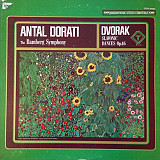 Antal Dorati, The Bamberg Symphony*, Dvořák* - Slavonic Dances Op. 46 (LP, Album, Quad)