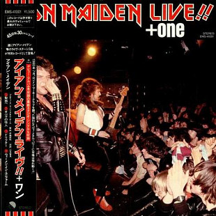 Iron Maiden ‎ (Live!! + One) 1980. (LP). 12. Vinyl. Пластинка. Japan. Rare.