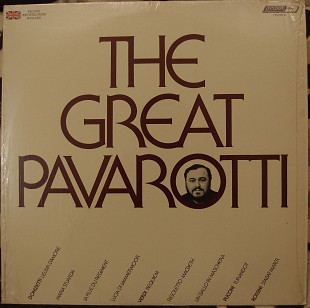 Luciano Pavarotti ‎– The Great Pavarotti
